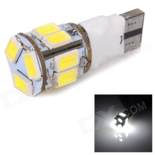 SENCART T10 3W 80lm 6500K White 2-Mode 5630 SMD LED Car Brake / Indicator Light Lamp (DC 12~16V)