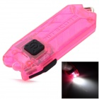 NiteCore TUBE 45lm 2-Mode Stepless Dimming Cool White USB Rechargeable Light Flashlight - Deep Pink