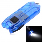 NiteCore TUBE Tiny 45lm 2-Mode Stepless Dimming Cool White USB Rechargeable Light Flashlight - Blue