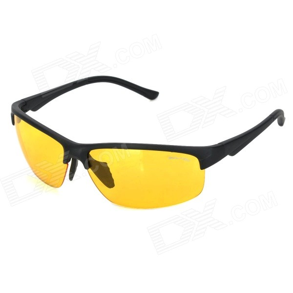 Oulaiou 3109 Outdoor Safety Anti-Explosion Sporty Cycling Goggles - Yellow + BlackGoggles<br>Lens Color Yellow Frame Color Black Model 3109 Quantity 1 Piece Shade Of Color Black Gender Unisex Suitable for Adults Lens Material Anti-explosion PC Lens Width 6.7 cm Frame Material Polycarbonate Frame Height 4.2 cm Overall Width of Frame 14.4 cm Bridge Width 2.2 cm Packing List 1 x Goggles<br>