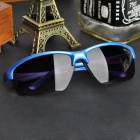 3109 Outdoor Safety Anti-Explosion Cycling Sporty Goggles - Blue + Grey