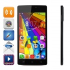 "KICCY D2000 5.0 ""Dual-Core 3G Android 4.2.2 Smart-Phone w / 4GB ROM, Doppel-Webcam, Doppel-SIM - Schwarz"