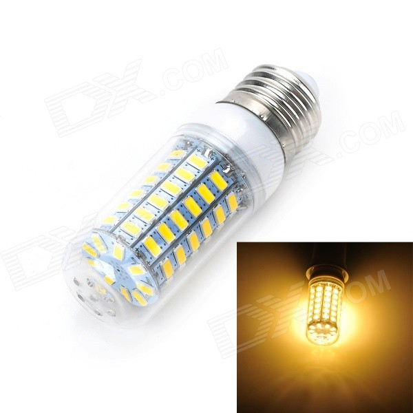 Marsing E27 12W 1000lm 3500K 69-SMD 5730 LED Warm White Light Bulb (AC 220-240V) marsing e14 12w 1000lm 3500k 69 smd 5730 led warm white light bulb lamp ac 220 240v