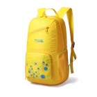 Makino Lightweight Water-resistant Foldable Outdoor Hiking Nylon Backpack - Yellow (22L)