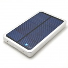 Itian Universal Solar Powered 4000mAh Li-po External Power Bank - Silver