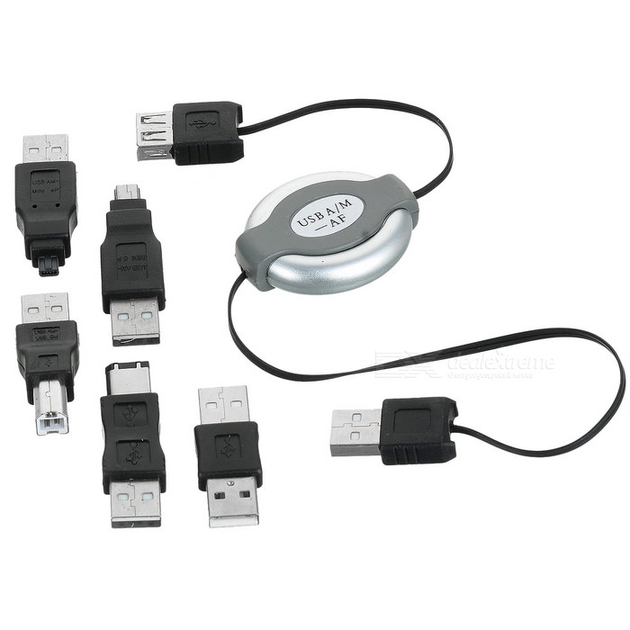 7-Piece USB Connectivity Kit