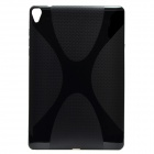 """X"" Pattern Non-Slip Protective TPU Back Case for Google Nexus 9 - Black"