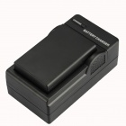 DSTE EN-EL9 7.4V 1900mAh Battery + US Plug Charger for Nikon D40 / D60 / D40X / D5000 - Black