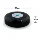 Auto Mute Smart Sweeping Mopping Robotic Dust Cleaner - Black (4 x AA)