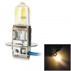 H3 100W 900LM 3500K Warm White Light Halogen Bulb - Silver (12V)