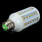 E27 15W 1200lm 71-SMD 5730 LED Warm White Light Lamp - White + Yellow (220V)
