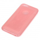 Sparkling TPU protector caso cubierta trasera para IPHONE 6 - Rosa