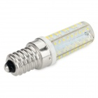 E14 5W 450LM 7000K 72 x 3014 SMD LED White Light Dimmable Lamp - Silver + White (AC 220~240V)