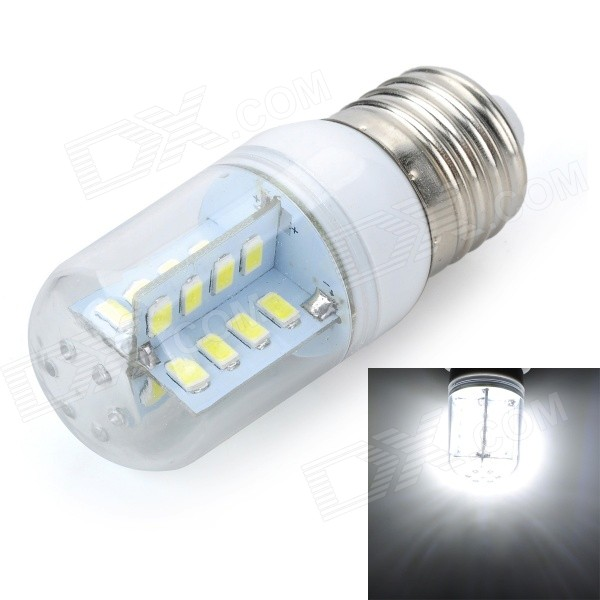 Marsing E27 Cross Design 5W 500lm 6500K 32-SMD 5730 LED Cool White Light Bulb Lamp (AC 220V)