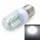 Marsing E27 5W LED Cool White Light Bulb - White + Yellow (AC 220V)
