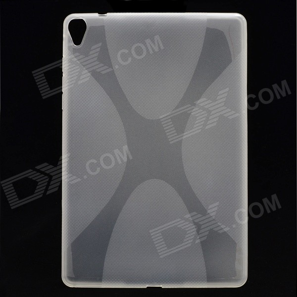 "X"" Pattern Non-Slip Protective TPU Back Case Google Nexus 9 - Transparent"