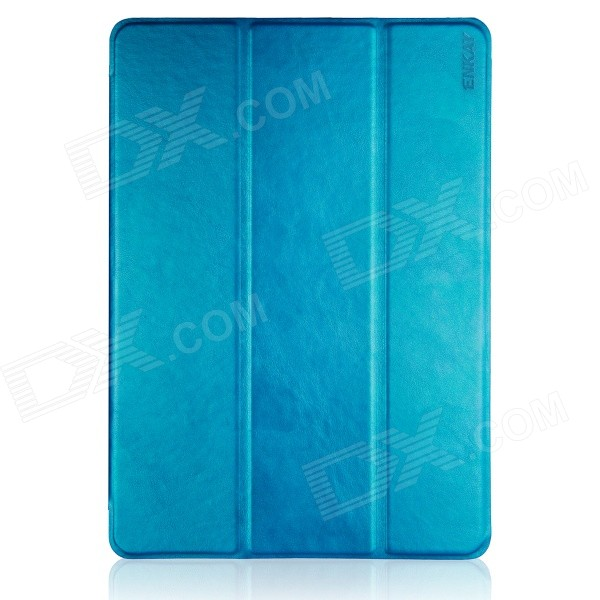 ENKAY ENK-3369 Protective PU Leather Case w/ Stand for IPAD MINI 1 / 3 / RETINA IPAD MINI - Blue hot sale dac board optical fiber coaxial usb dac decoding amp board