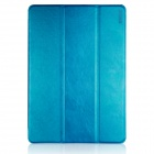 ENKAY ENK-3369 Protective PU Leather Case w/ Stand for IPAD MINI 1 / 3 / RETINA IPAD MINI - Blue