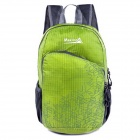 Makino 5504A Foldable Outdoor Sports Chinlon Backpack - Green (22L)