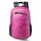 Makino 5504A Foldable Outdoor Sports Chinlon Backpack - Pink (22L)