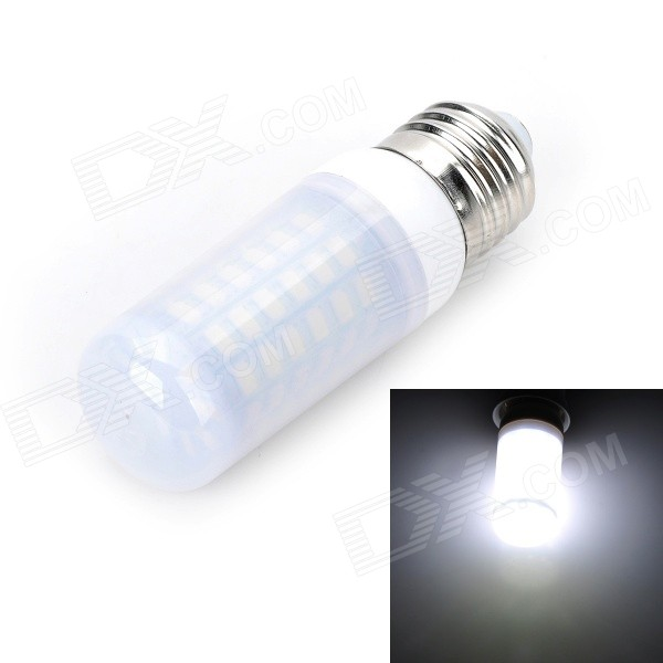 Marsing E27 Frosted Cover 12W 1000lm 6500K 69-SMD 5730 LED Cool White Light Bulb (AC 220-240V) marsing e27 frosted cover cross board 10w 900lm 6500k 56 x smd 5050 led cool white light bulb lamp