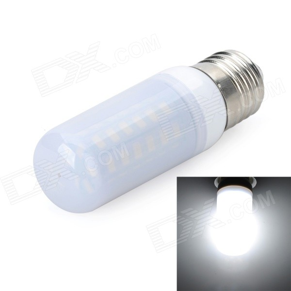 Marsing E27 8W LED Cool White Light Bulb - White (AC 220~240V)