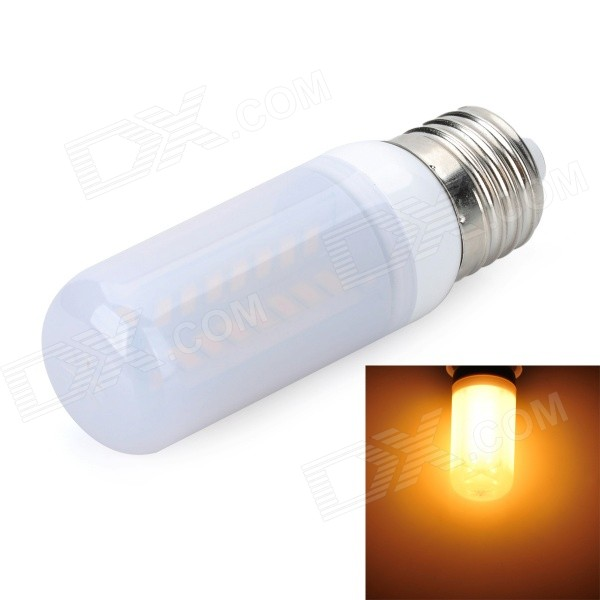 Marsing E27 Frosted Cross 10W 900lm 3500K 56-SMD 5730 LED Warm White Light Bulb (AC 220~240V) marsing e27 frosted cover cross 10w 900lm 3500k 56 x smd 5050 led warm white light bulb ac 220v