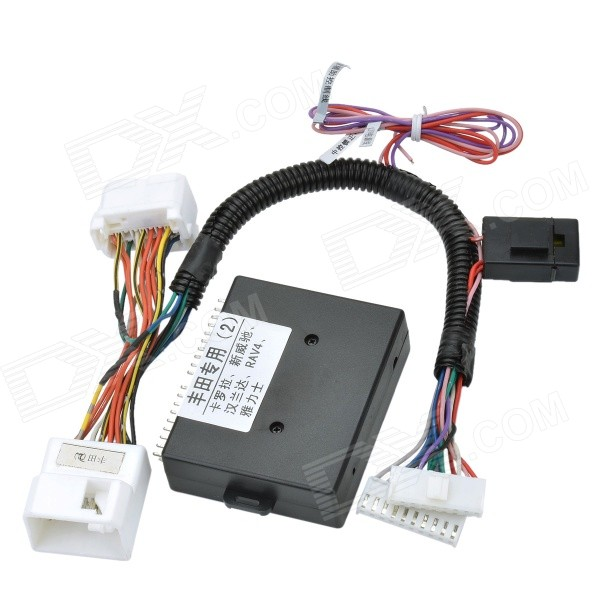 Car 4-Window Automatic Up / Down / Open / Close Controller for TOYOTA - Black controller for 39r6515 exp3000 well tested working
