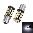 Merdia 1156 5W 72LM 6000K 30 x 5050 SMD LED White Light Car Steering / Brake Light (12V / 2 PCS)