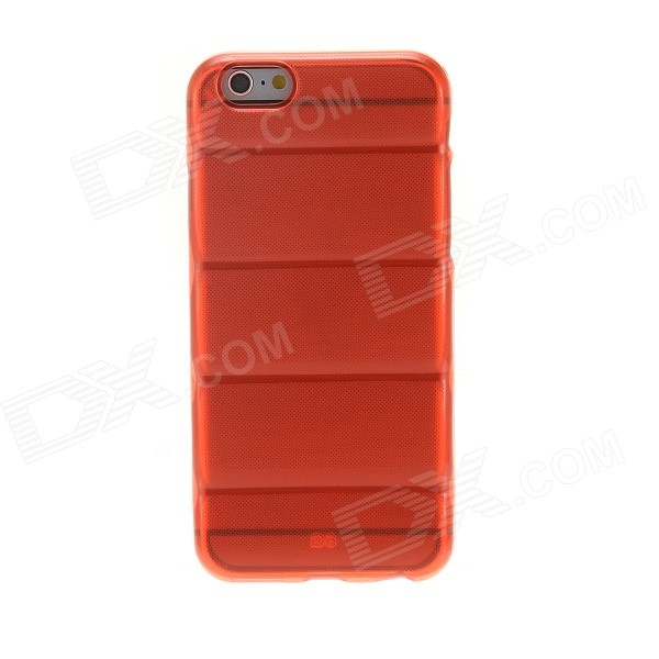 все цены на Kinston KST92540 Wave Pattern TPU Soft Cover Back Case for IPHONE 6 - Red онлайн