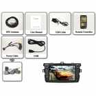 Vreugdevolle Android 4.2.2 1080P Auto Radio Stereo DVD / DVR w / OBD2 / Airplay voor 2007 ~ 2011 Toyota Corolla