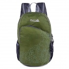 Makino 5504A Foldable Outdoor Sports Chinlon Backpack - Army Green (22L)