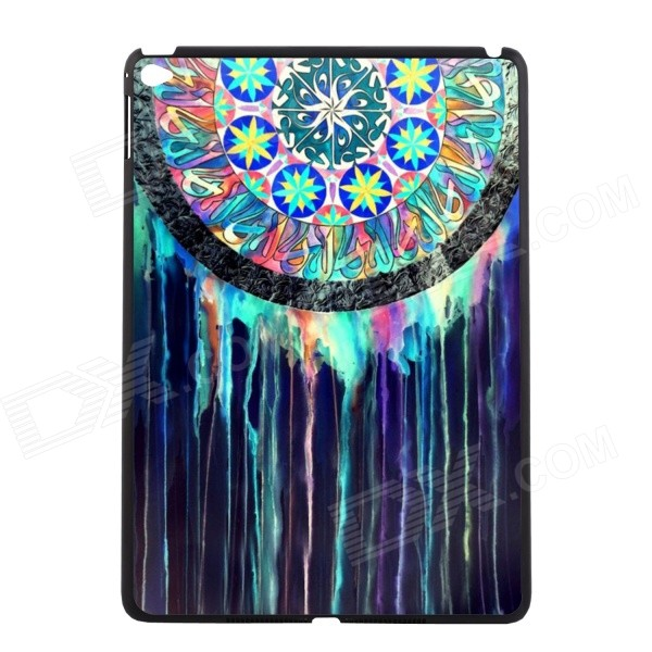 Elonbo U16W20 Retro Dreamcatcher Plastic Hard Back Case for IPAD AIR 2 - Green + Blue + Multicolor