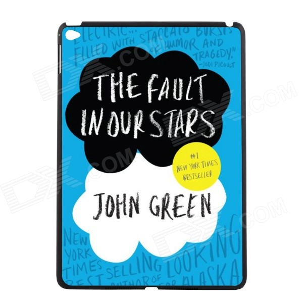 Elonbo The Fault in Our Stars Pattern Protective Plastic Back Case for IPAD AIR 2 - Blue + Black шторы тканевые iraq ga