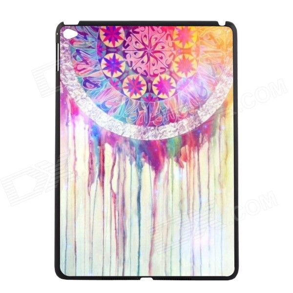 Elonbo U16W19 Retro Dreamcatcher Plastic Hard Back Case for IPAD AIR 2 - White + Purple + Multicolor