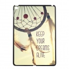 Elonbo Dreamcatcher Pattern Plastic Back Case for IPAD AIR 2 - Grey + Yellow + Multi-Color