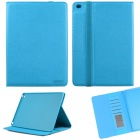 ENKAY ENK-3509 Protective Smart PU Leather Case w/ Stand / Card Slots for IPAD AIR 2 - Blue