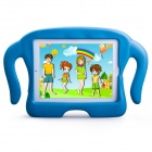 MOCREO FUNCASE Cute Kids Friendly EVA Foam Protective Back Case for IPAD 2 / 3 / 4 - Blue