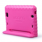 "MOCREO Funcase Caso Safe Kids protetora de espuma Voltar bonito para New Kindle Fire HD 7 ""Tablet - Deep Pink"