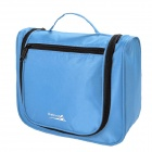 Makino Portable Travel Toiletry Storage / Organizer Bag - Blue