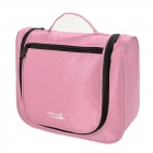 Makino Portable Travel Toiletry Storage / Organizer Bag - Pink