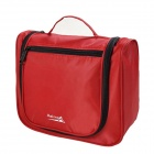 Makino Portable Travel Toiletry Storage / Organizer Bag - Red