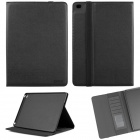 ENKAY ENK-3509 Protective Smart PU Leather Case w/ Stand / Card Slots for IPAD AIR 2 - Black
