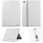 ENKAY ENK-3509 Protective Smart PU Leather Case w/ Stand / Card Slots for IPAD AIR 2 - White