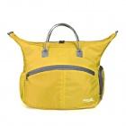 Makino Outdoor Sport Multifunctional Nylon Shoulder Bag Handbag - Yellow (15L)