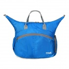 Makino Outdoor Sport Multifunctional Nylon Shoulder Bag Handbag - Blue (15L)