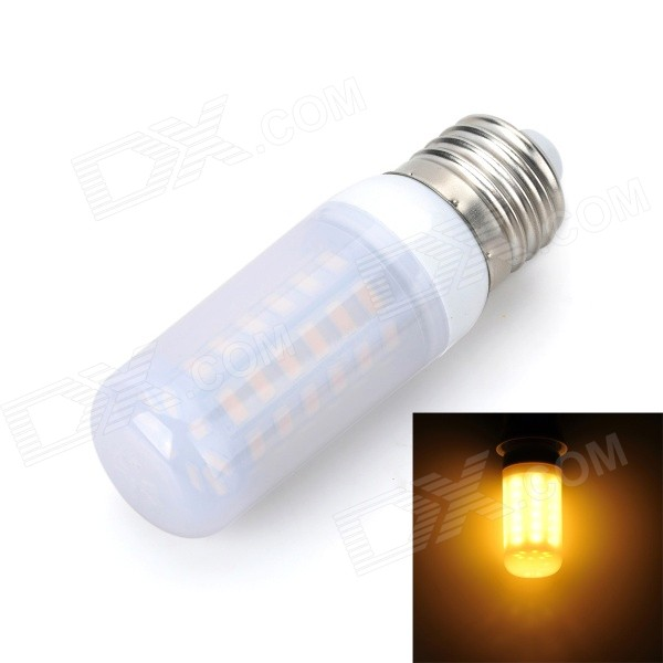 Marsing E27 Frosted Cover 10W 900lm 3500K 56-SMD 5730 LED Warm White Light Bulb (AC 220~240V) marsing e27 frosted cover cross 10w 900lm 3500k 56 x smd 5050 led warm white light bulb ac 220v