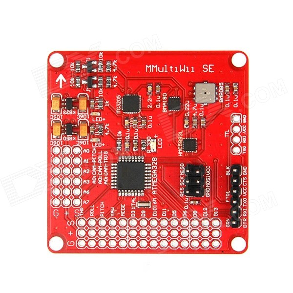 Geeetech MWC MultiWii SE V2.0 Standard multi-Copter 4-axis Main Flight Control - Red wholesale 1pcs mwc multiwii standard se v2 5 flight controller for multicopter quad x gimbal dropship
