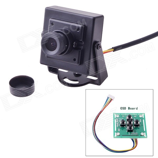 700TVL HD Mini Camera 1/3 SONY CCD EFFIO-E w/ OSD Menu for R/C Helicopter Multicopter Car FPV aomway 1200tvl 960p ccd hd mini camera 2 8mm lens for fpv