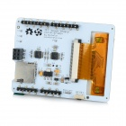 "2.8"" TFT LCD Resistive Touch Screen Module for Arduino - White (Works with Official Arduino Boards)"